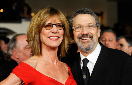 Christine and her husband Thomas at an event