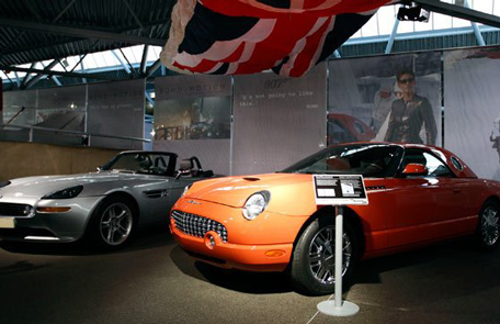 50 years of the 50 james bond cars emirates 24 7 for What is a motor vehicle bond