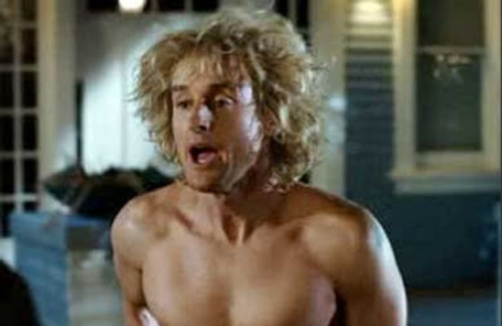 Owen Wilson It's not just ladies who have stand-ins when it comes to nude ...