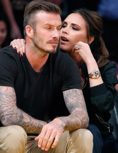 Posh only has eyes for David Beckham - Emirates 24|7