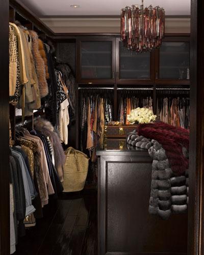 Kourtney Kardashians Miami Shoe Closet