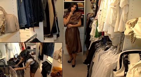 Hereu0027s A Look At The Kardashian Closets.