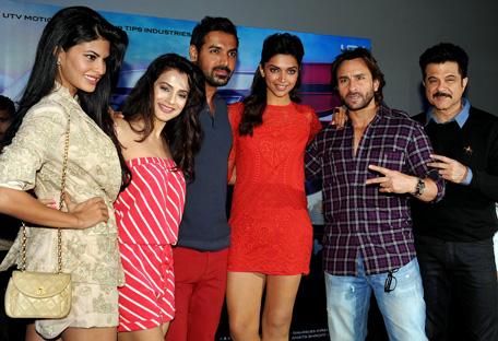 Deepika, Jacqueline rev it up for 'Race 2' - Emirates24|7