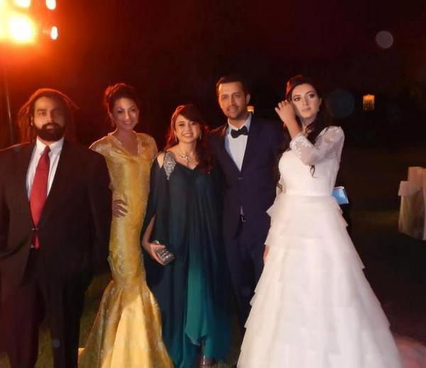 Pictures From Pakistani Singer Atif Aslams Wedding And Reception