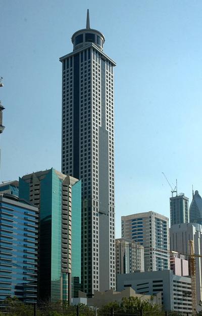 Khalid al Attar Building Khalid al Attar Tower in Dubai
