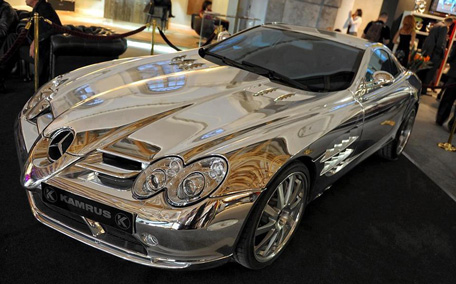 It Detailed That The Car Is Made Using 18k White Gold S Not Paint But Body Of Reported A Website