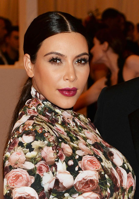 Kim Kardashian Attends The Costume Insute Gala For Punk Chaos To Couture Exhibition At Metropolitan Museum Of Art On May 6 2017 In New York