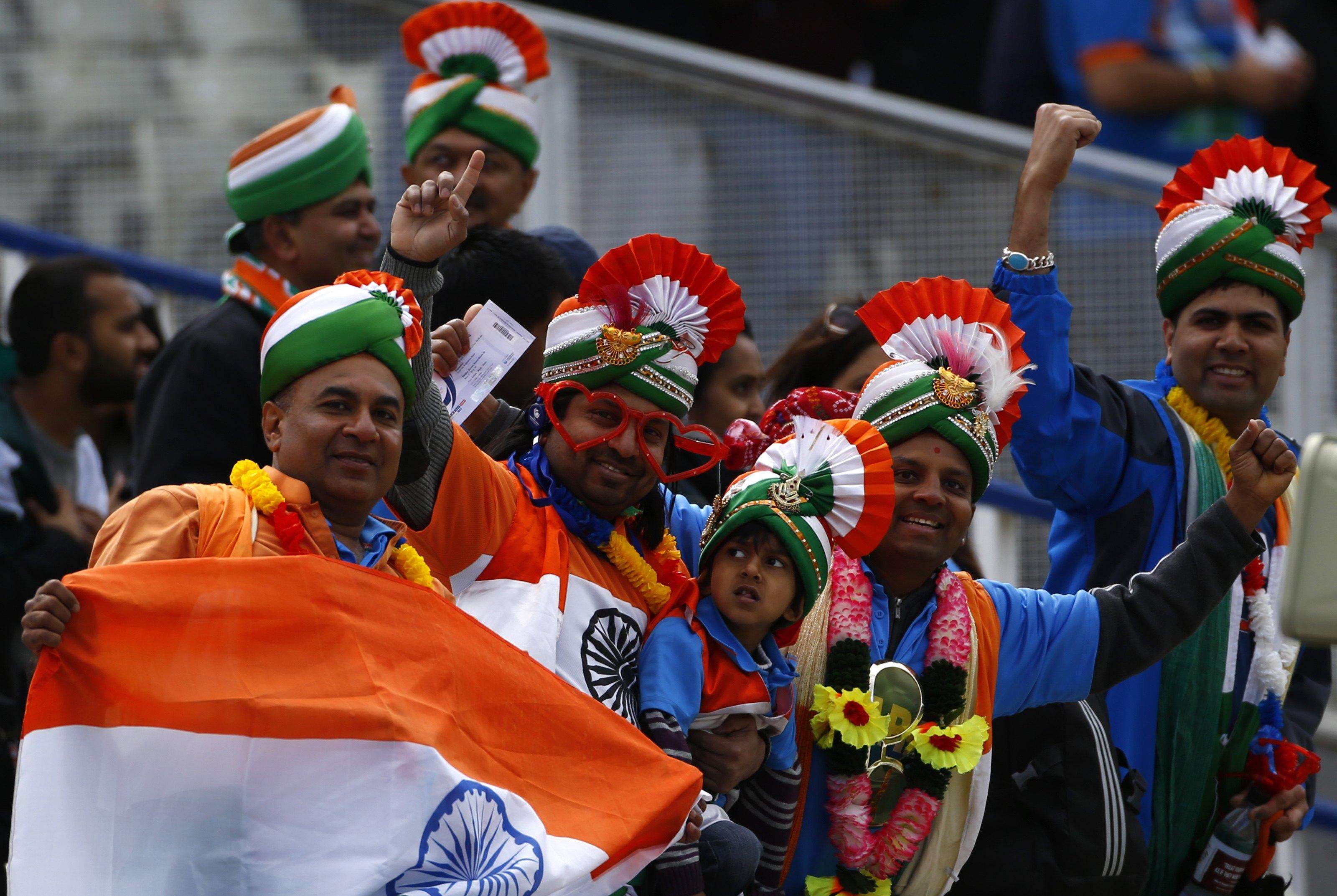 Image result for ind vs pak cricket fans