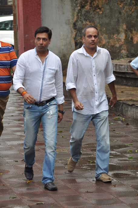 Madhur Bhandarkar (Left) director of 'Fashion'