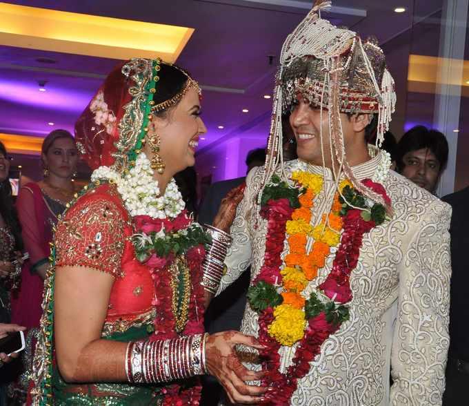 Tv Actress Shweta Tiwari And Abhinav Kohli S Lavish Wedding