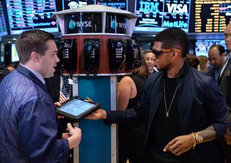 Usher Turns Wolf Of Wall Street Emirates24 7