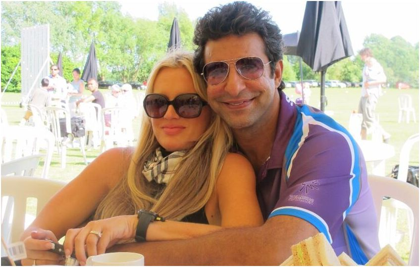 More photos: Happily married Wasim Akram & Shaniera ... | 848 x 540 jpeg 80kB