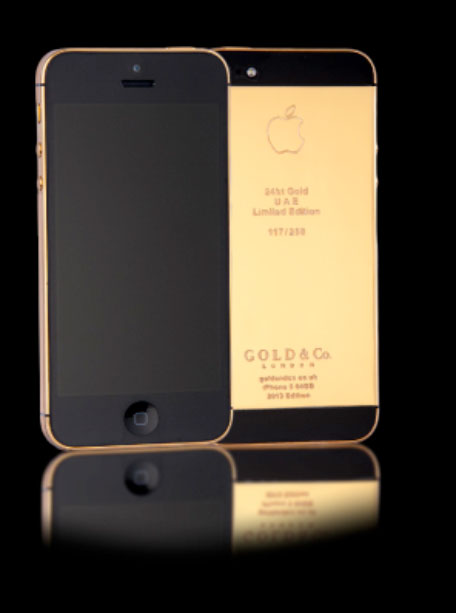 Apple iPhone 5S in gold? UAE's platinum plans - Emirates 24|7