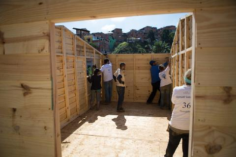 Uae students step out to help build homes in brazil for Brazilian house music