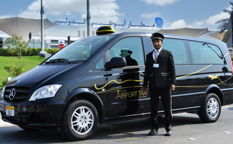 Arrive At Abu Dhabi Airport Drive In Luxury Cabs