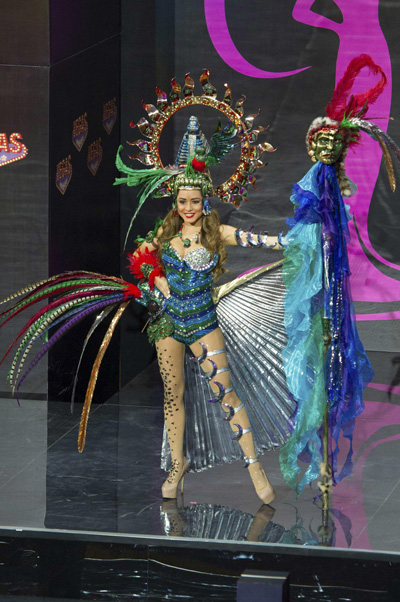 Miss Universe Pageant 2015: Costumes for preliminary show