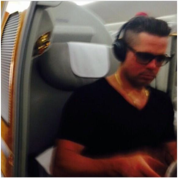 Brad Pitt spotted in Dubai; where's Angelina? - Emirates 24|7 брэд питт инстаграм