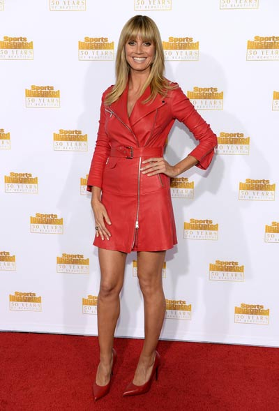 50 years of SI's Swimsuit: Heidi Klum leads model parade ...  50 years of SI&...