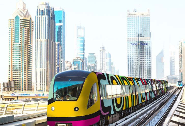 Dubai Metro Art Musuems: Designs on track - Emirates 24|7