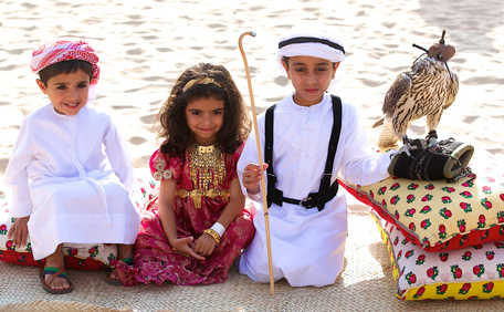 thousands visited qasr al hosn festival to celebrate uae