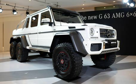 forget 4x4, here is new 6x6 mercedes benz g63 emirates24|7