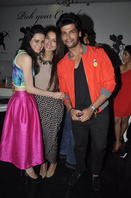 Lovebirds Kushal and Gauhar were present at the event along with other