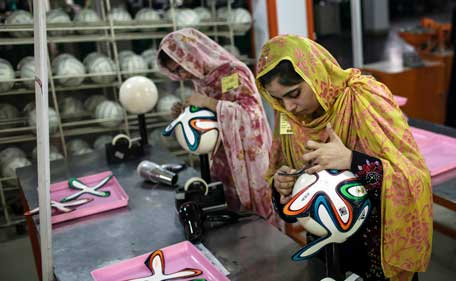 The Brazuca was designed after the controversy that dogged the Jabulani ball at South Africa 2010 slammed for its erratic, unpredictable flight.
