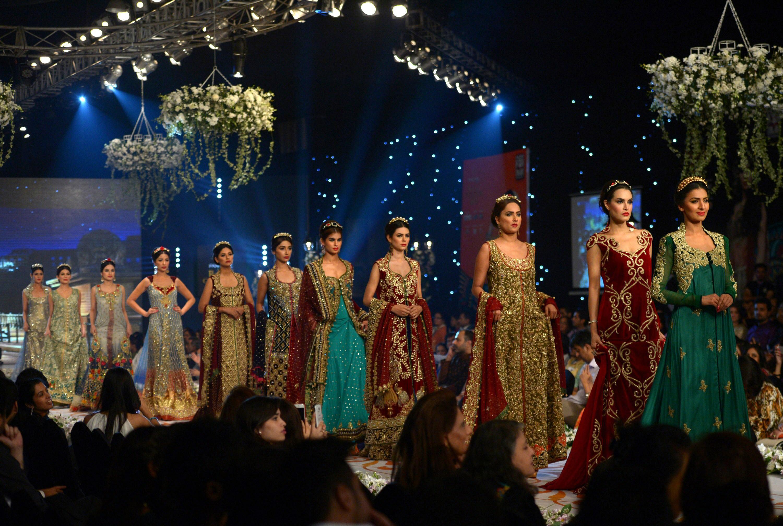 Pakistani Models Present Bridal Couture Lifestyle Emirates24 7