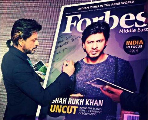 Shah Rukh in Dubai