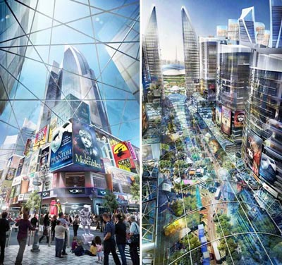 Dubai to start work on world s largest mall by q1 2015 for Ec harris dubai