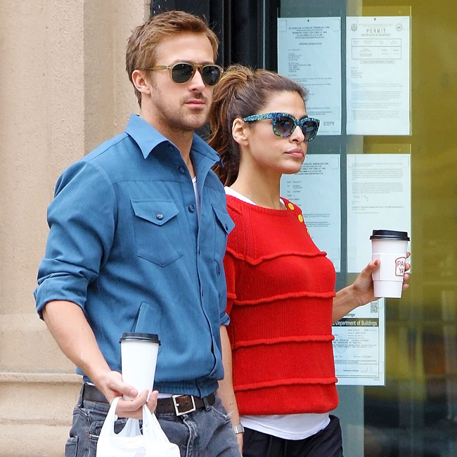 Eva Mendes e Ryan Gosling 2014 Eva Mendes And Ryan Gosling