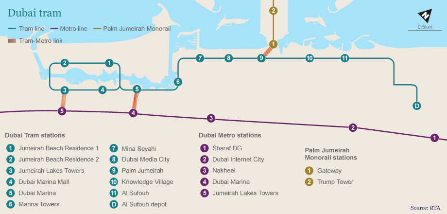 11 bus stops How you get there Emirates 247