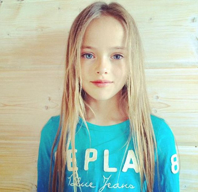 Nine Year Old Model Is World 39 S Most Beautiful Girl