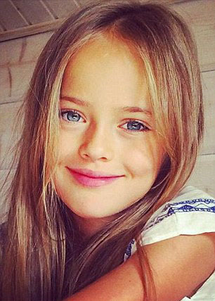 Nine-year-old model is world's most beautiful girl ...