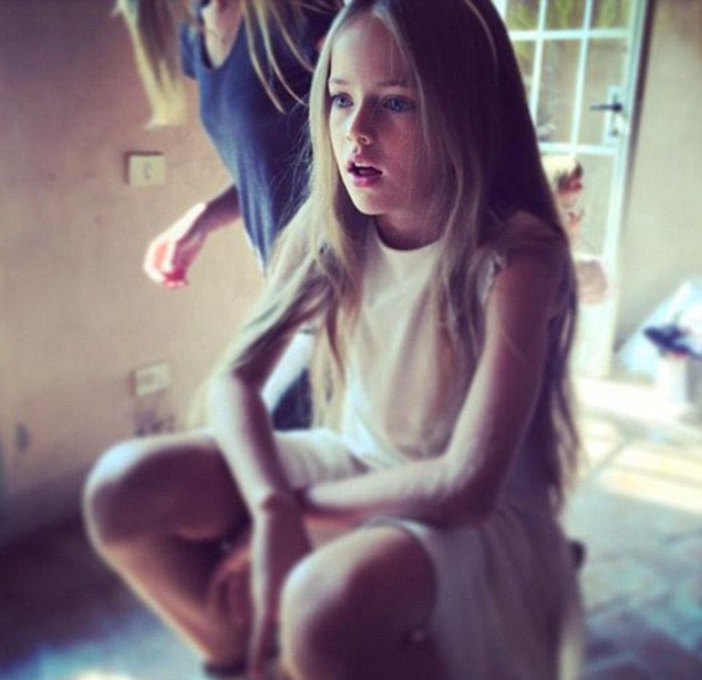 Nine year old model is world s most beautiful girl emirates 24 7