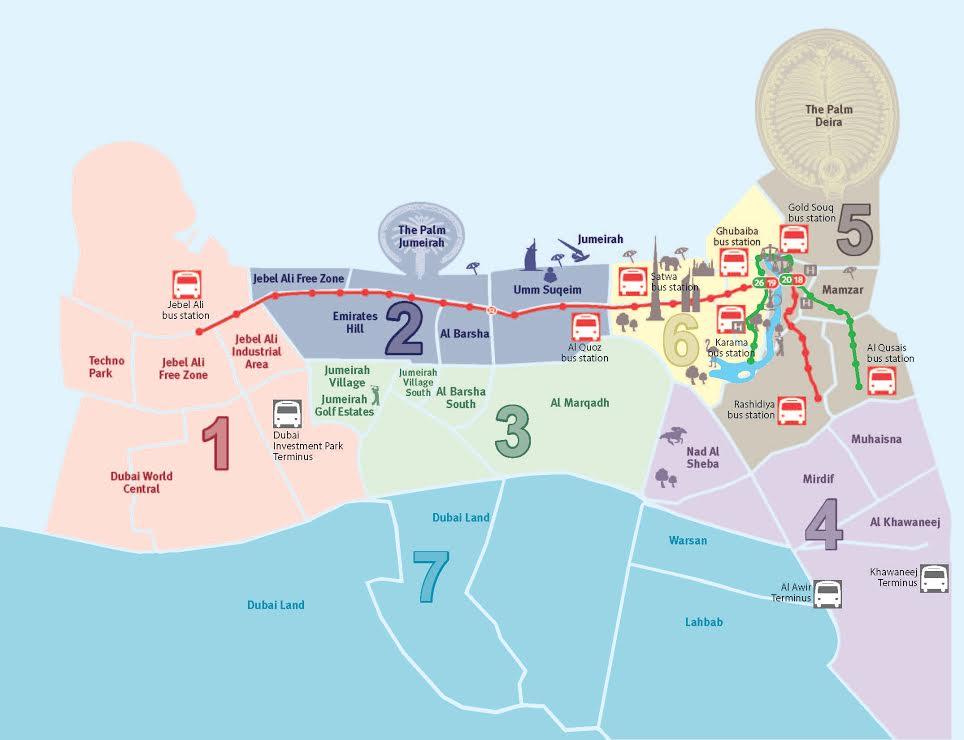 public gets to ride dubai tram from november 12 emirates247