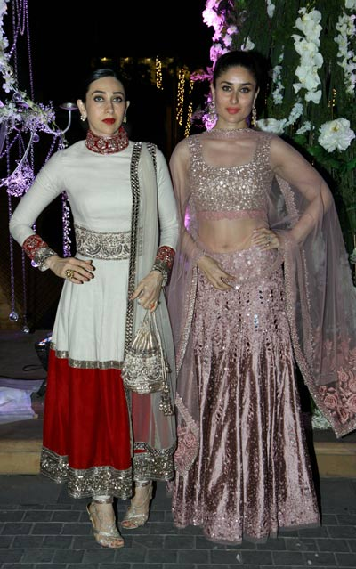 Bolllywood wedding: Kareena, Karishma, Alia, Malaika ...