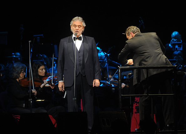 Andrea Bocelli At Her Best At Madison Square Garden Emirates 24 7