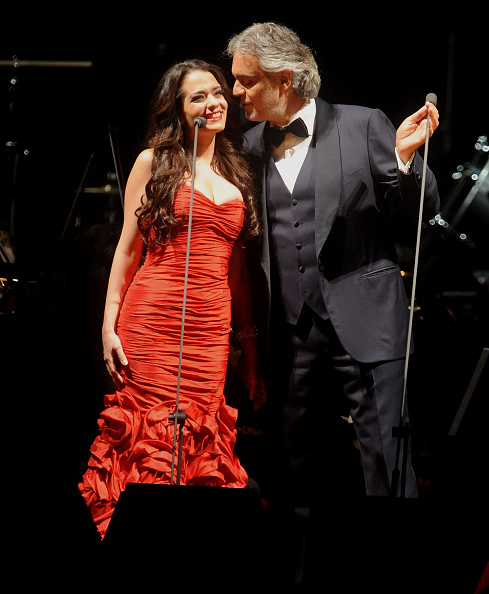 Maria Aleida And Andrea Bocelli (Getty Images) Good Looking