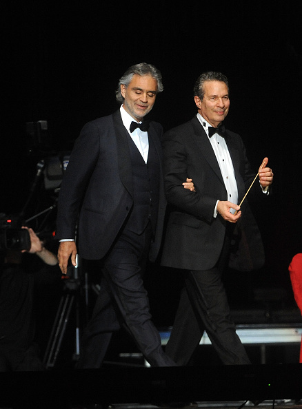Maria Aleida And Andrea Bocelli (Getty Images)