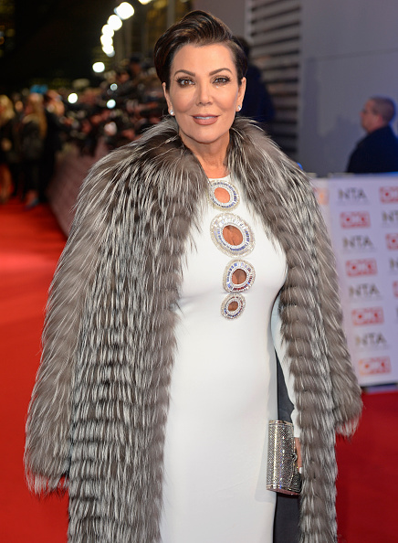 Kris Jenner Braves The Chill In Fur Coat Emirates24 7