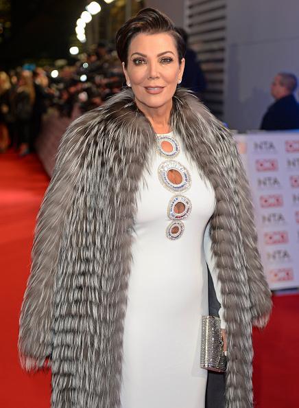 Kris Jenner Braves The Chill In Fur Coat Emirates 24 7