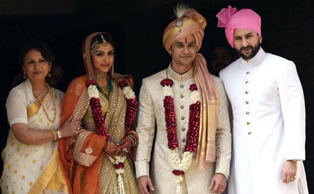 Inside Soha Ali Khan, Kunal Khemu's wedding; Kareena ...