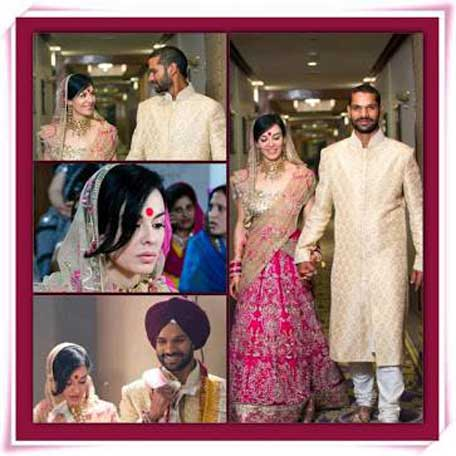 Image result for shikhar dhawan and his wife marriage