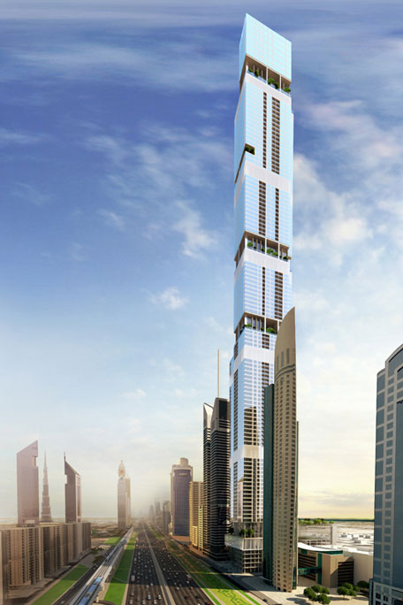 uae companies in race to build second tallest tower in