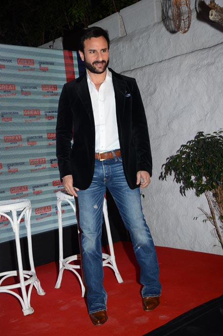 At Driving Up Tourists To Well Visit The Uk Bollywood Superstar Saif Ali Khan Made The Pitch At