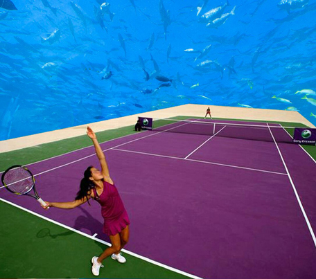 Architect Plans Underwater Tennis Complex In Dubai