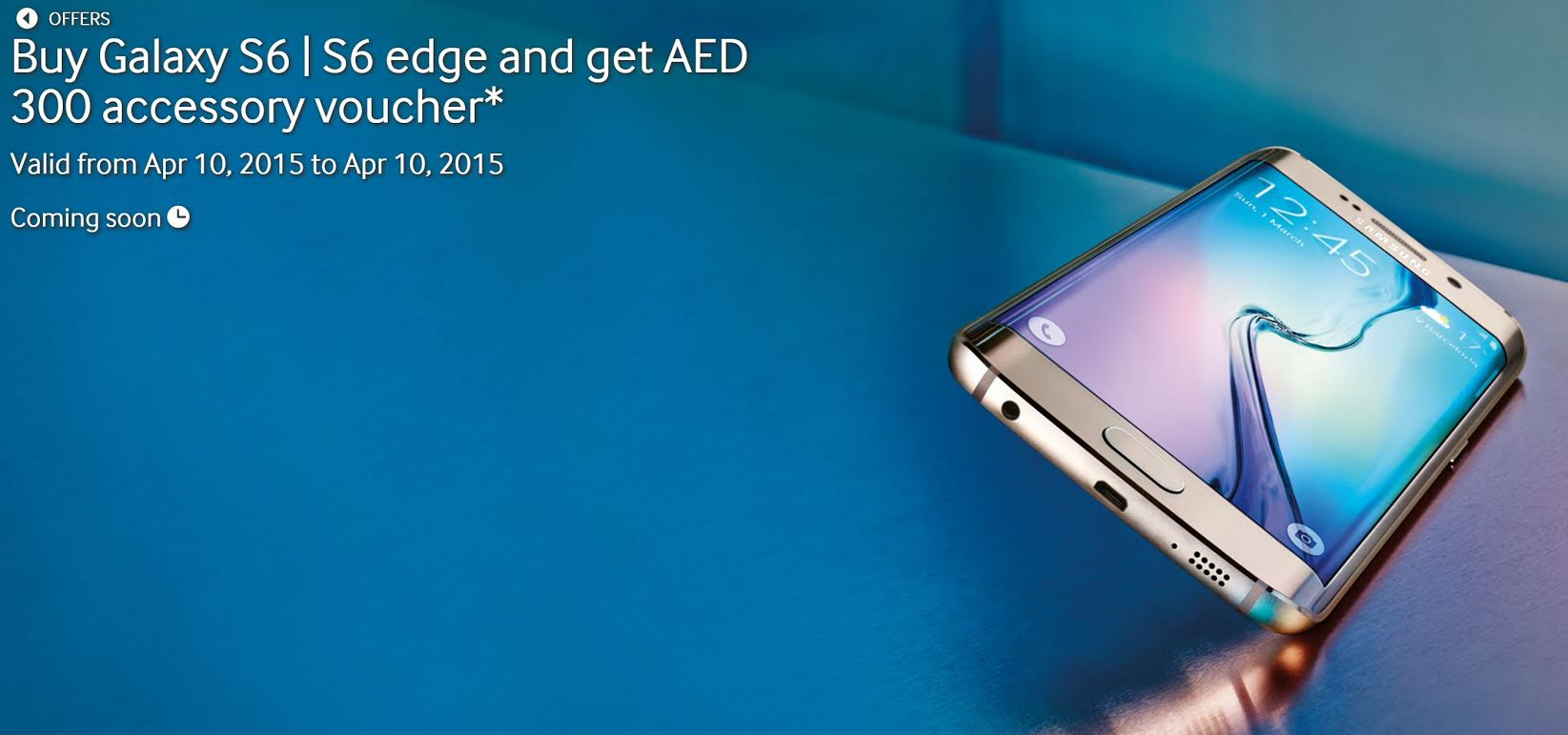 Launched: Galaxy S6, S6 Edge, Apple Watch, BlackBerry Red ...