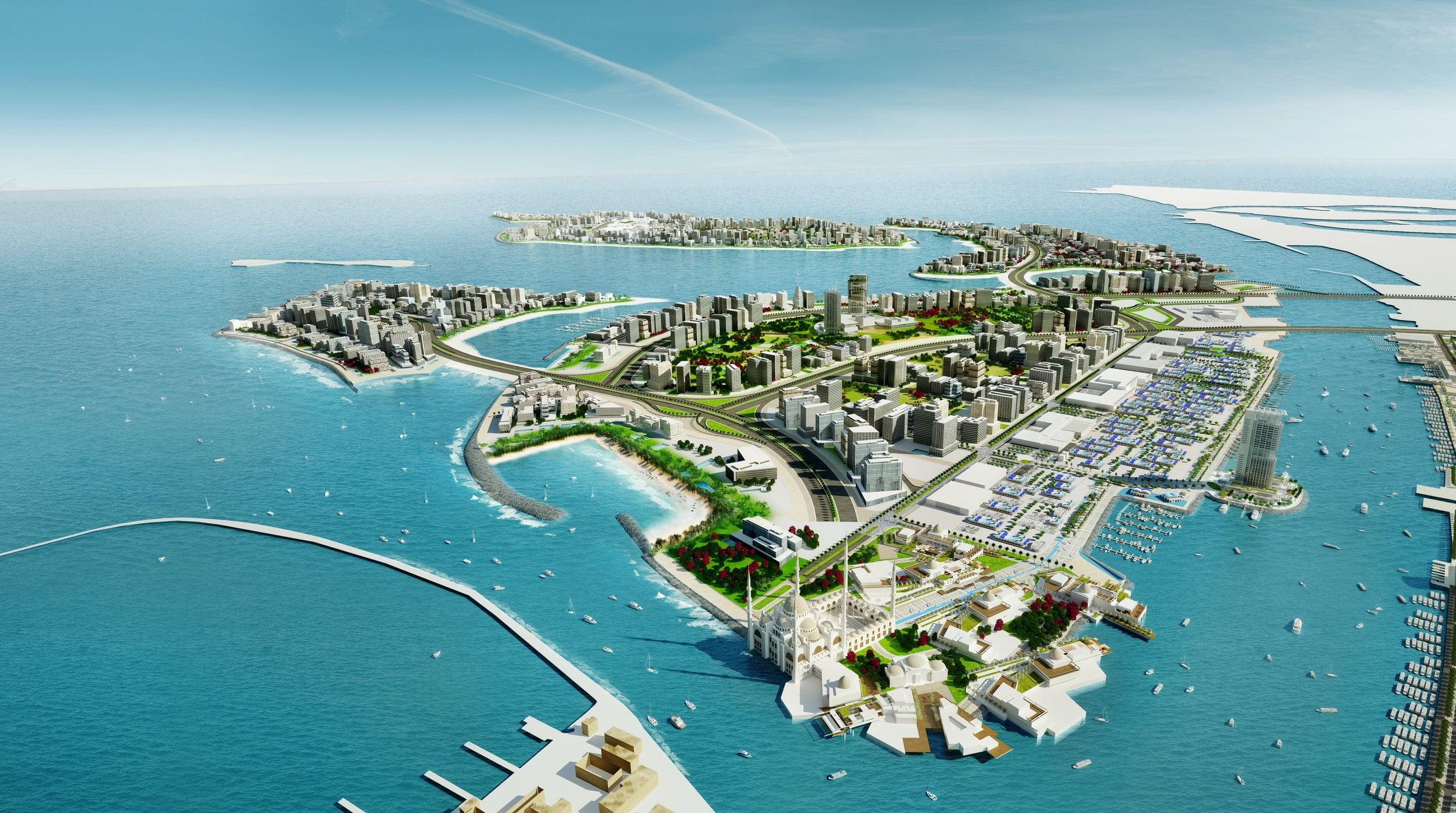 Waterfront side of the house - Target 2020 10 Amazing Projects Coming Up In Dubai