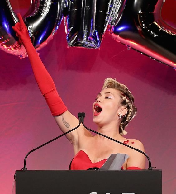 Hairy Underarm A Fashion Trend Miley Cyrus Lady Gaga Think So